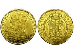 Compraventa de monedas de oro