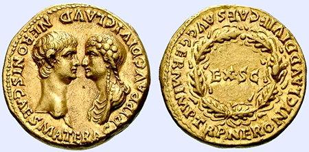 Monedas de Nerón