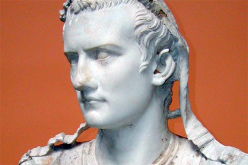 Busto de Calígula - Cayo Cesar