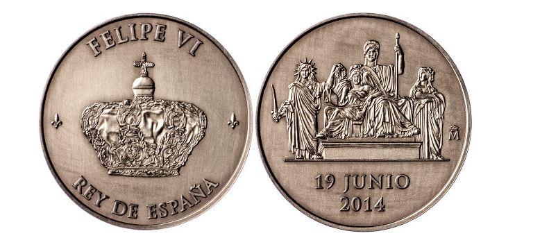 Moneda Felipe VI