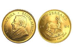 Compraventa monedas de oro en MADRID