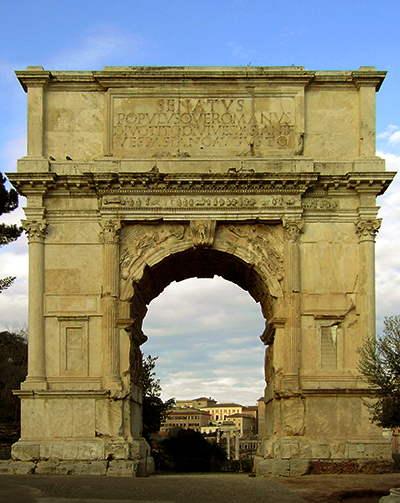 Arco del triunfo de Tito - Roma