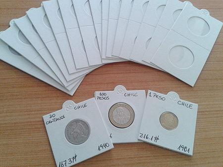 cartoncillos para monedas