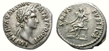 denario antiguo de palta - Nerva