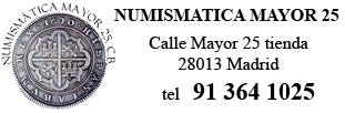 Noticias Numismáticas - Tienda Mayor 25