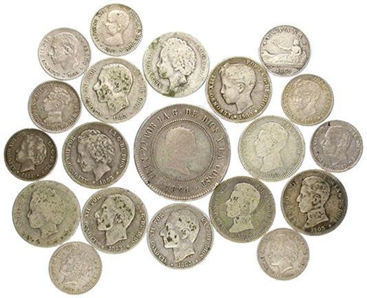 Lote de monedas coleccion