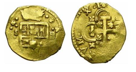 macuquina de oro - tienda numismática