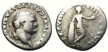 moneda tito emperador