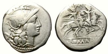 monedas de roma