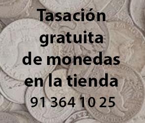 Tasacion gratuita de monedas antiguas