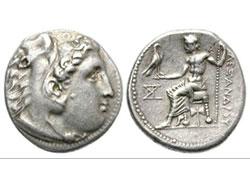 Compraventa de monedas romanas