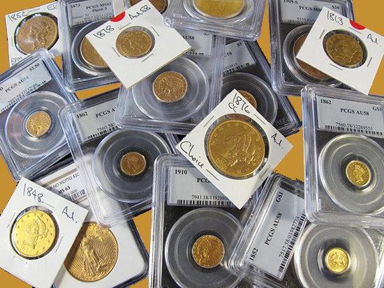 Vender colección de monedas en Madrid