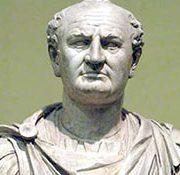 Emperador Roamno Tito Flavio Vespasiano